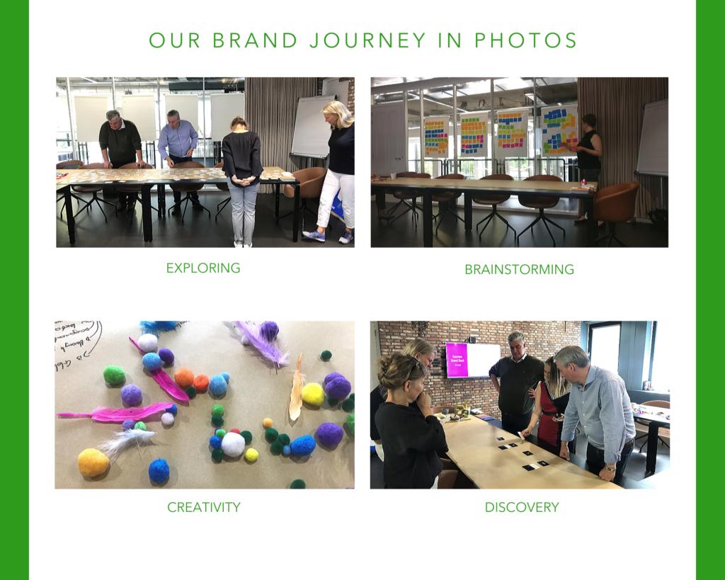 Brand Journey in Photos