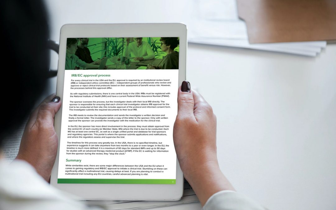 Starting a clinical trial in the EU: Siron Clinical launches new eBook